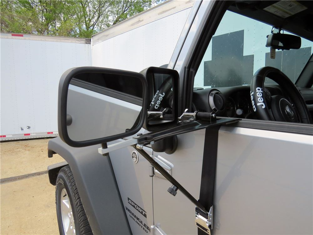 2015 Jeep Wrangler Unlimited Custom Towing Mirrors Cipa
