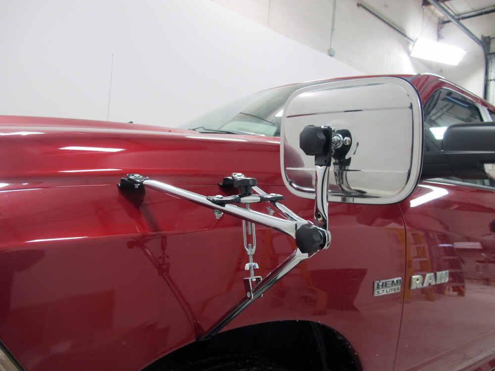 Universal Fender Mount Towing Mirror Cipa Custom Towing