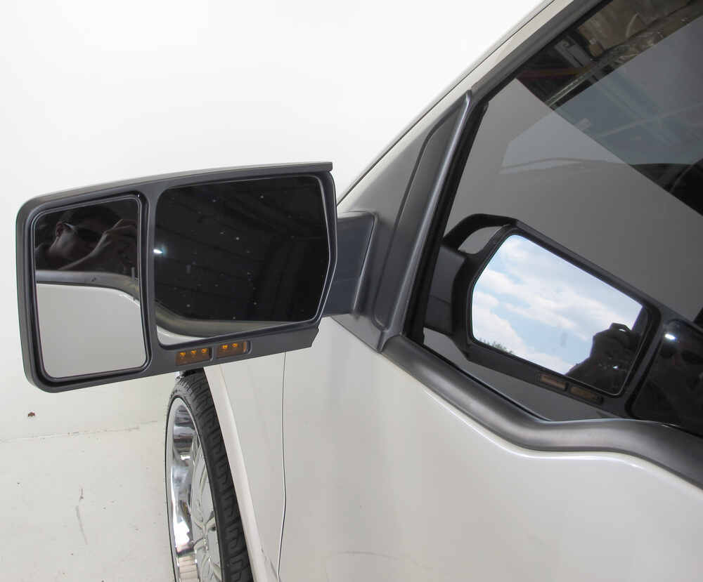 Cipa custom towing mirror slip on driver side cipa for Custom mirrors