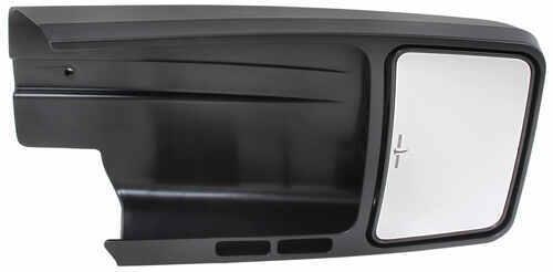 Fits 11-18 Grd Caravan T/&C Left Mirror Glass w//Heat Blind Spot Detect Back Plate