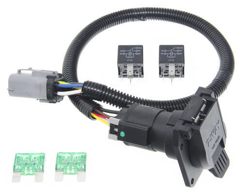 Pare Curt Tconnector Vs Ford Replacement Etrailerrhetrailer: Oem Tow Package Wiring Harness 7 Way Ready At Elf-jo.com