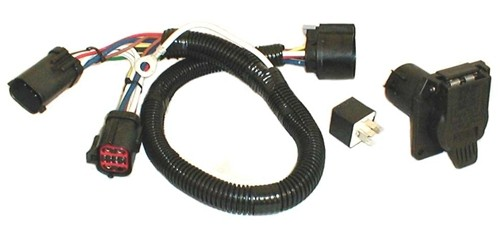 ford f 150 tow package vehicle wiring harness with 7 way trailer rh etrailer com