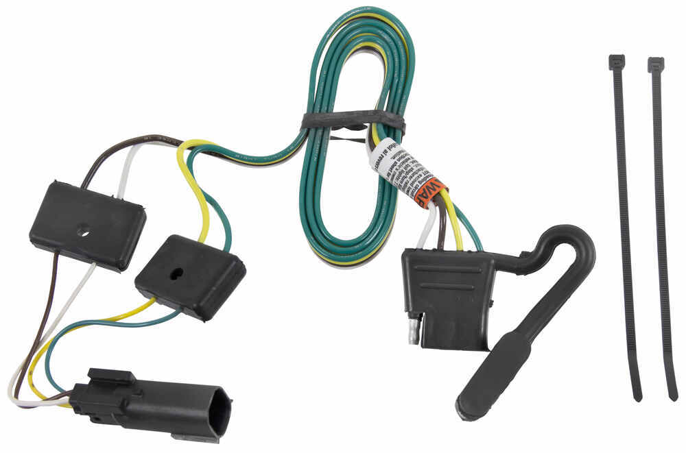 compare curt t connector vs tow package wiring etrailer com rh origin etrailer com