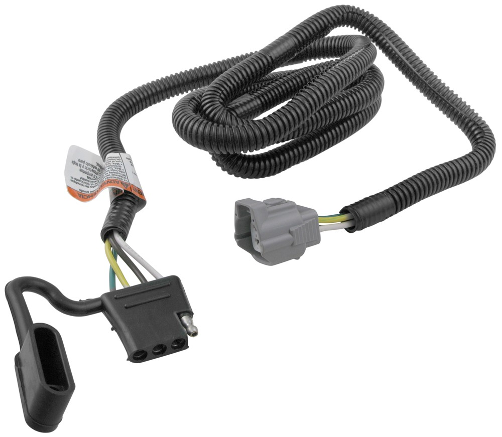 t one vehicle wiring harness for factory tow package 4. Black Bedroom Furniture Sets. Home Design Ideas