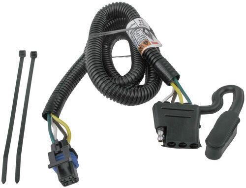 118259_500 t one vehicle wiring harness for factory tow package 4 pole flat  at webbmarketing.co