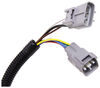 T-One Vehicle Wiring Harness for Factory Tow Package - 7-Way and 4-Flat Trailer Connectors No Converter 118262