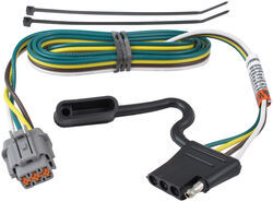Replacement OEM Tow Package Wiring Harness with 4-Flat for Nissan