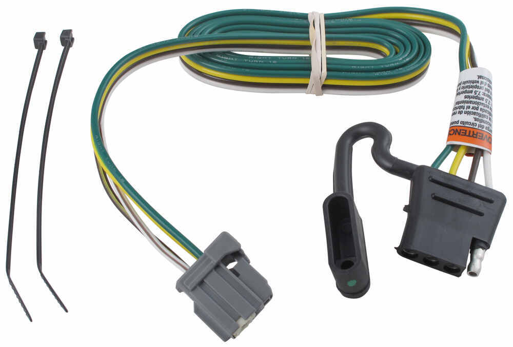Trailer Wiring Harness For 2013 Gmc Terrain : Tow package wiring on gmc sierra autos post