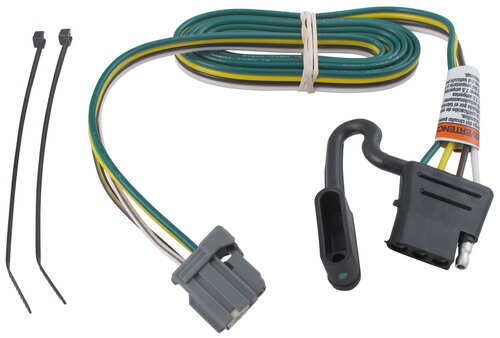 compare t one vehicle wiring vs t one vehicle wiring etrailer com rh etrailer com t-one vehicle wiring harness with 4-pole K5 Blazer Wiring Harness