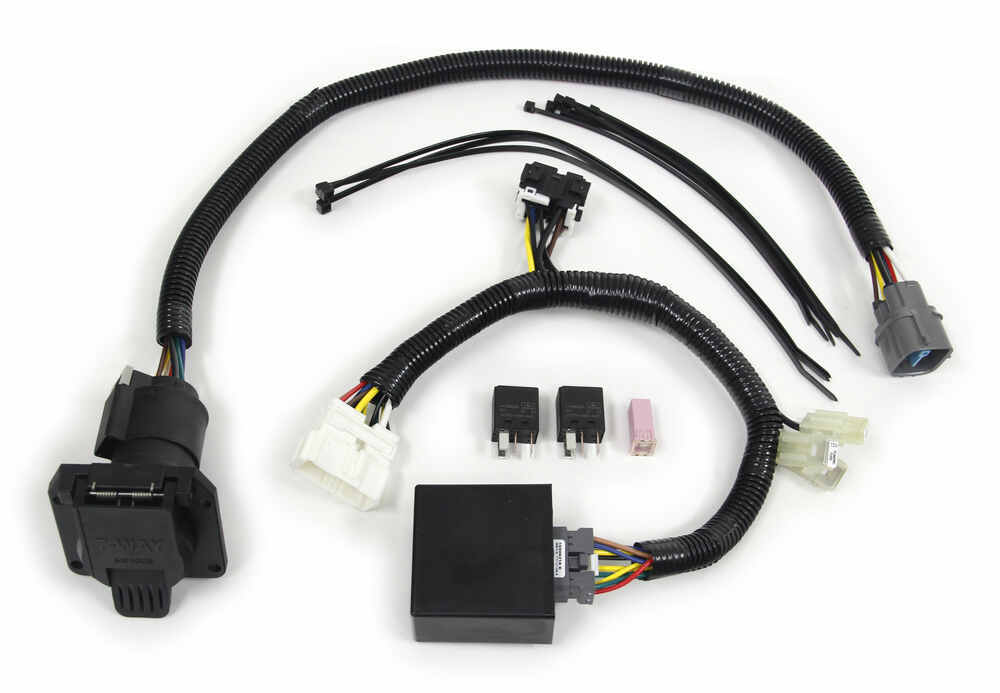 t one vehicle wiring harness for factory tow package 7 way trailert one vehicle wiring harness for factory tow package 7 way trailer connector tekonsha custom fit vehicle wiring 118265