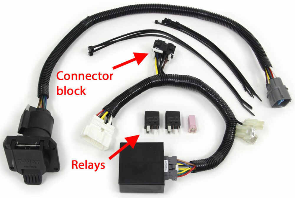 trailer wiring harness for 2014 honda pilot