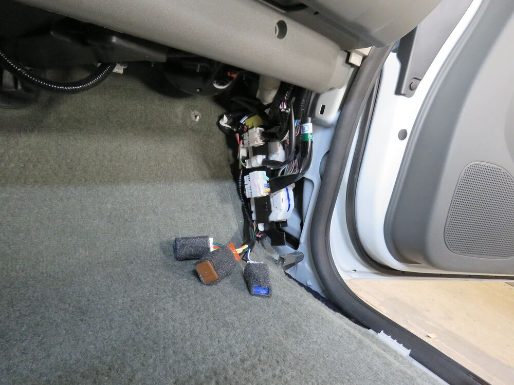 2016 Nissan Frontier Custom Fit Vehicle Wiring
