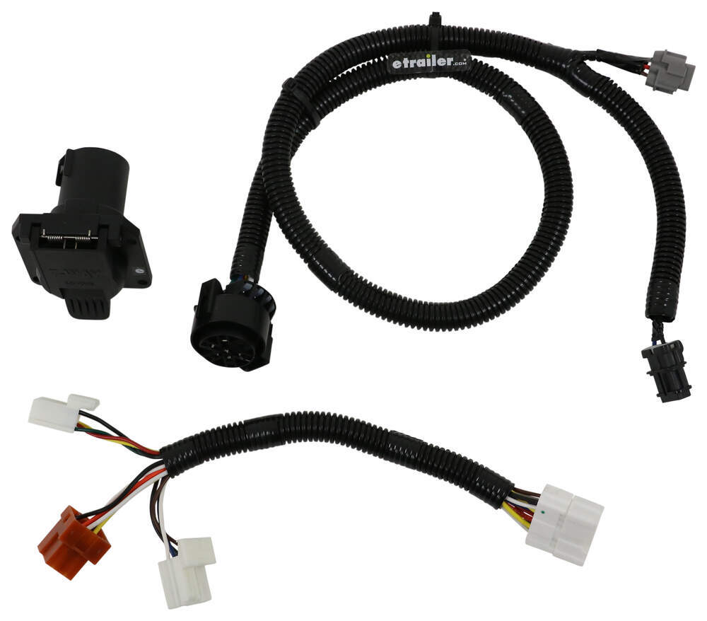 2017 Nissan Frontier Trailer Wiring Harness