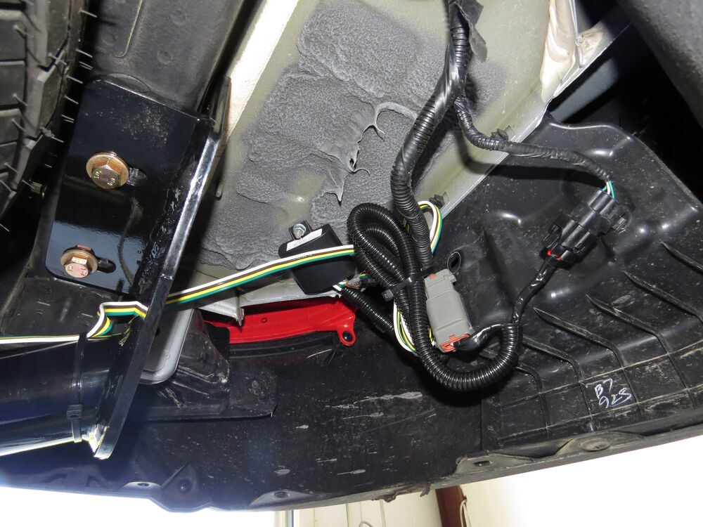 2012 Hyundai Santa Fe Trailer Wiring Harness : Hyundai santa fe custom fit vehicle wiring tow ready
