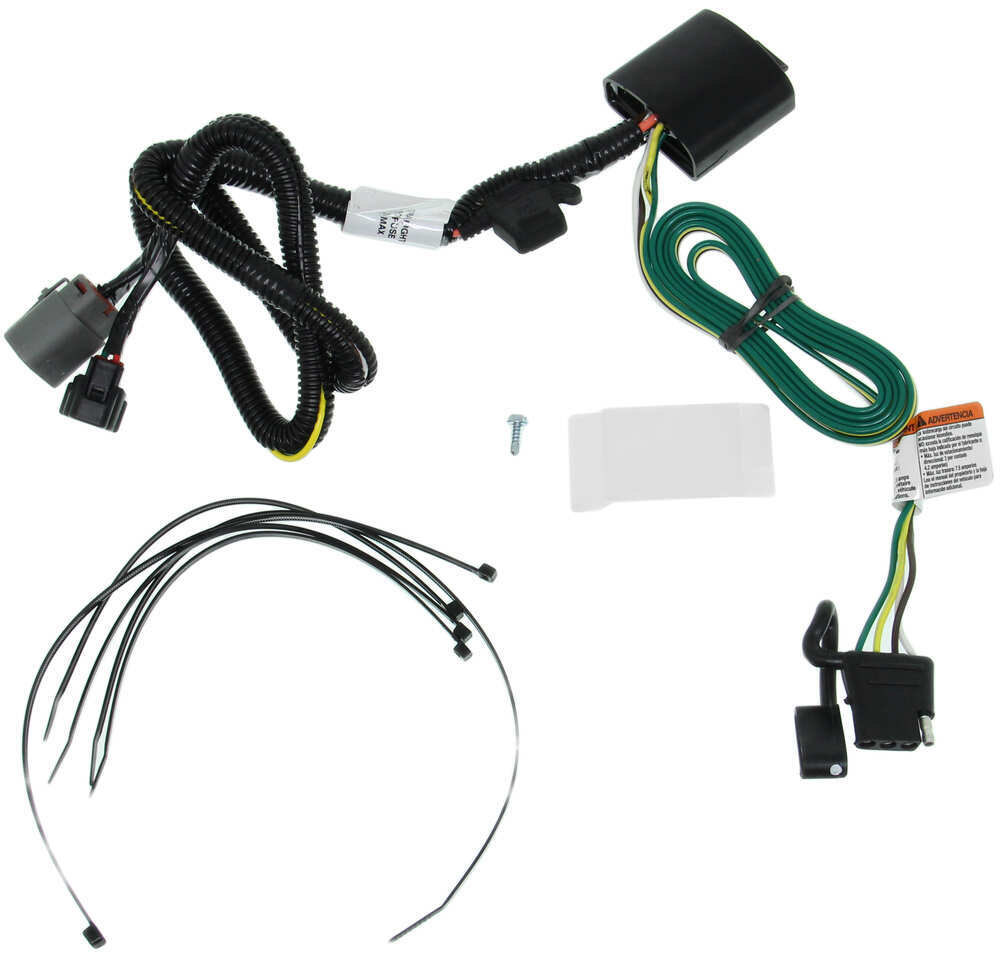 t-one vehicle wiring harness for factory tow package