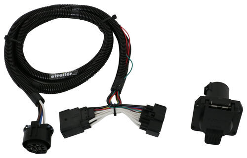 2014 ford explorer t one vehicle wiring harness with 7 way large truck 7-way wiring