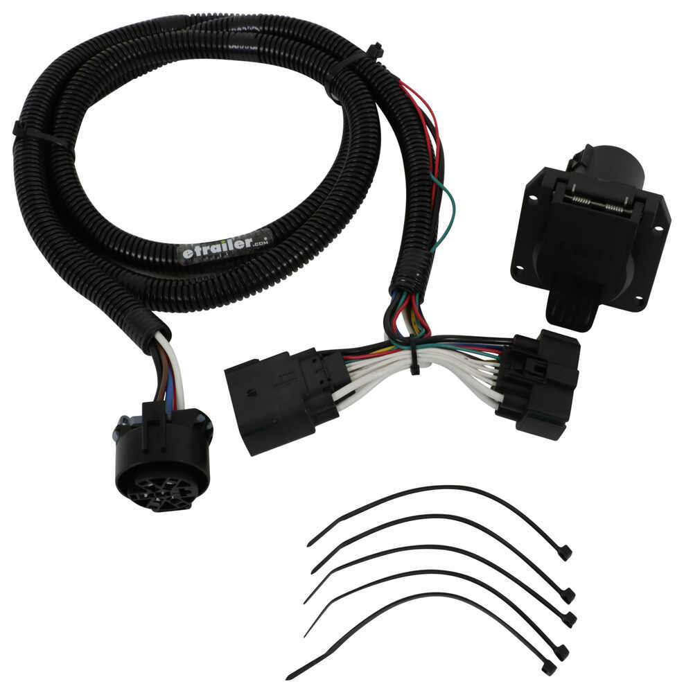 2017 Ford Explorer T-one Vehicle Wiring Harness For Factory Tow Package
