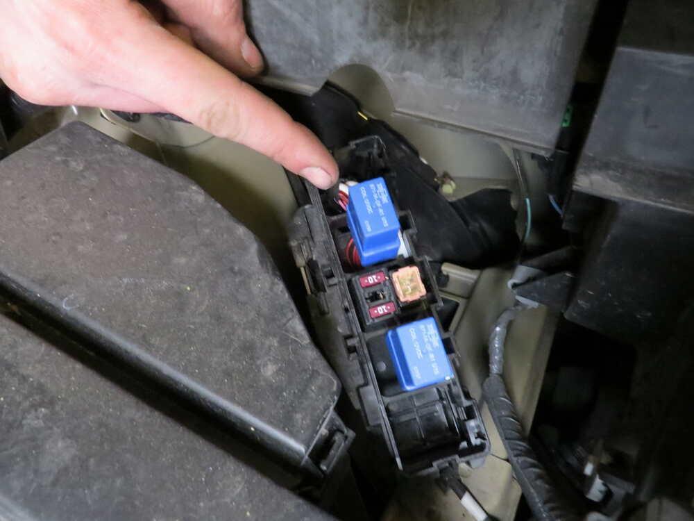 2013 Nissan Titan Trailer Wiring Harness : Nissan pathfinder custom fit vehicle wiring tekonsha