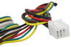 Tekonsha 4 Flat Custom Fit Vehicle Wiring - 118278