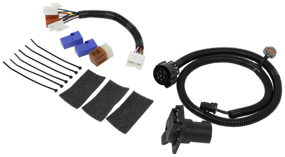 t one vehicle wiring harness with 7 way trailer connector tekonsha custom fit vehicle wiring 118281