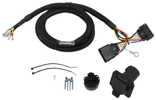 2018 ford f-150 t-one vehicle wiring harness with 7-way ... gmc 7 way trailer wiring diagram f150 7 way trailer wiring