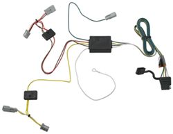 t one vehicle wiring harness with 4 pole flat trailer connector Honda Accord Ignition Cylinder