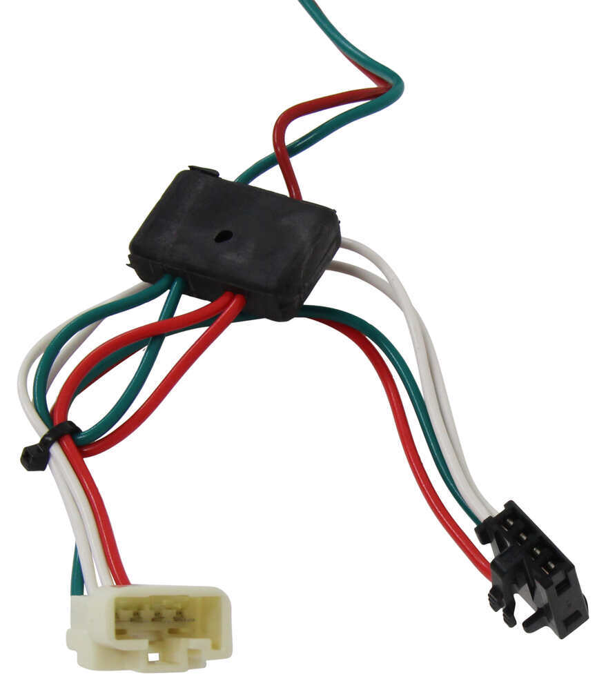 T One Vehicle Wiring Harness With 4 Pole Flat Trailer Connector Circuit Tester Tekonsha Accessories And Parts 8008 Custom Fit 118304