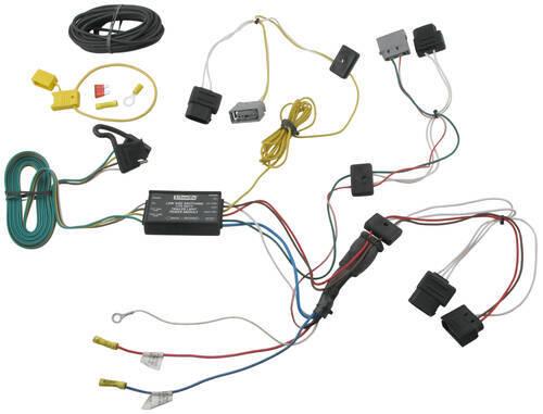 Trailer Wiring Harness For Ford Windstar : Ford windstar custom fit vehicle wiring tekonsha