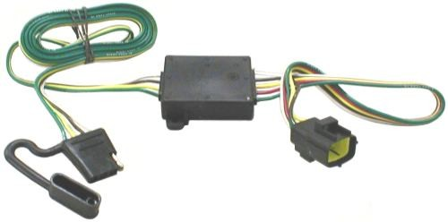 t one vehicle wiring harness with 4 pole flat trailer connector rh etrailer com 2011 kia sorento tow hitch wiring 2011 kia sorento trailer hitch wiring