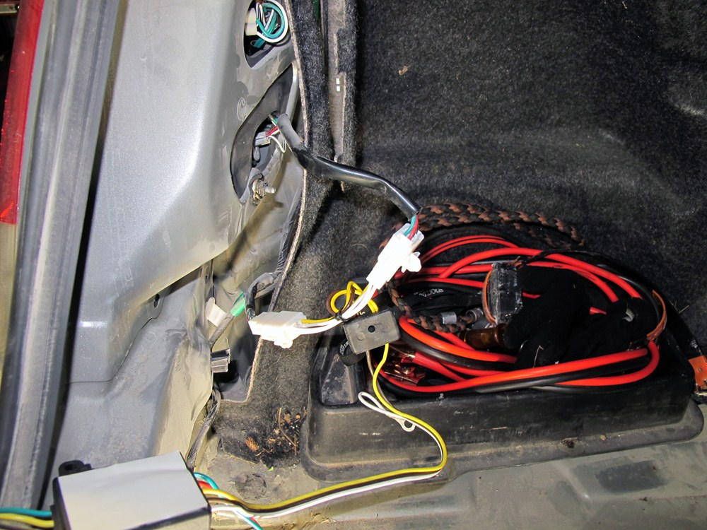 2003 Toyota Tacoma Custom Fit Vehicle Wiring Hopkins