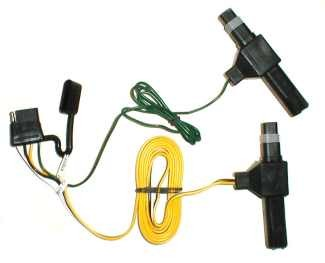 118317_500 t one vehicle wiring harness with 4 pole flat trailer connector 1993 D250 Manual Transmission at metegol.co