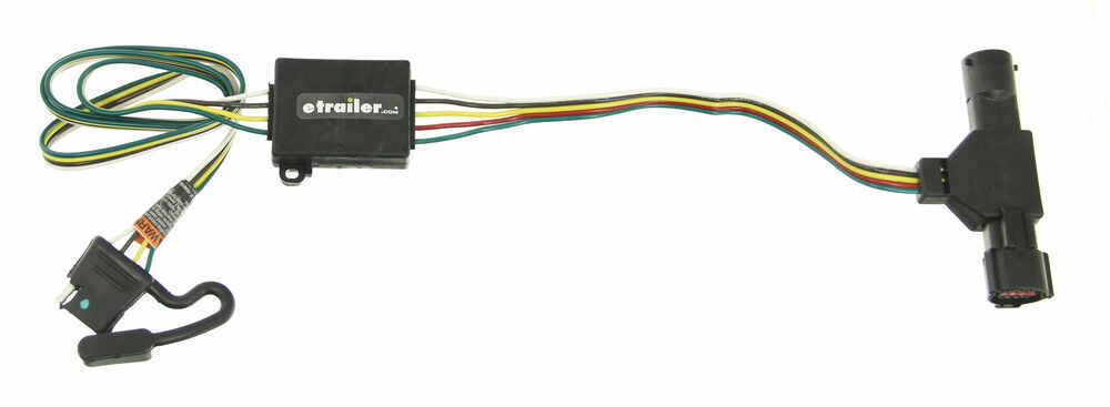 1997 ford ranger t one vehicle wiring harness with 4 pole 4 flat trailer wiring diagram for 2000 ford ranger