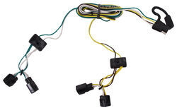 trailer wiring harness installation 2003 dodge dakota video for the 1998 dodge dakota radio wiring harness t one vehicle wiring harness with 4 pole flat trailer connector
