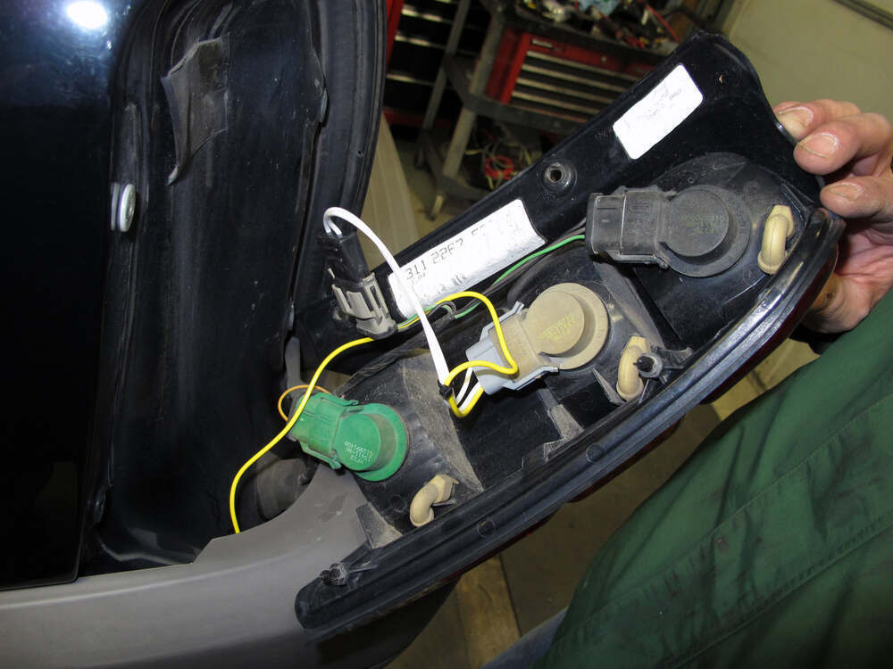 Trailer Wiring Harness For Ford Windstar : Ford escape t one vehicle wiring harness with pole