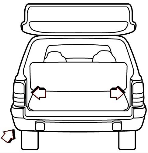 1994 jeep grand cherokee custom fit vehicle wiring - tekonsha western suburbanite wiring diagram for jeep cherokee