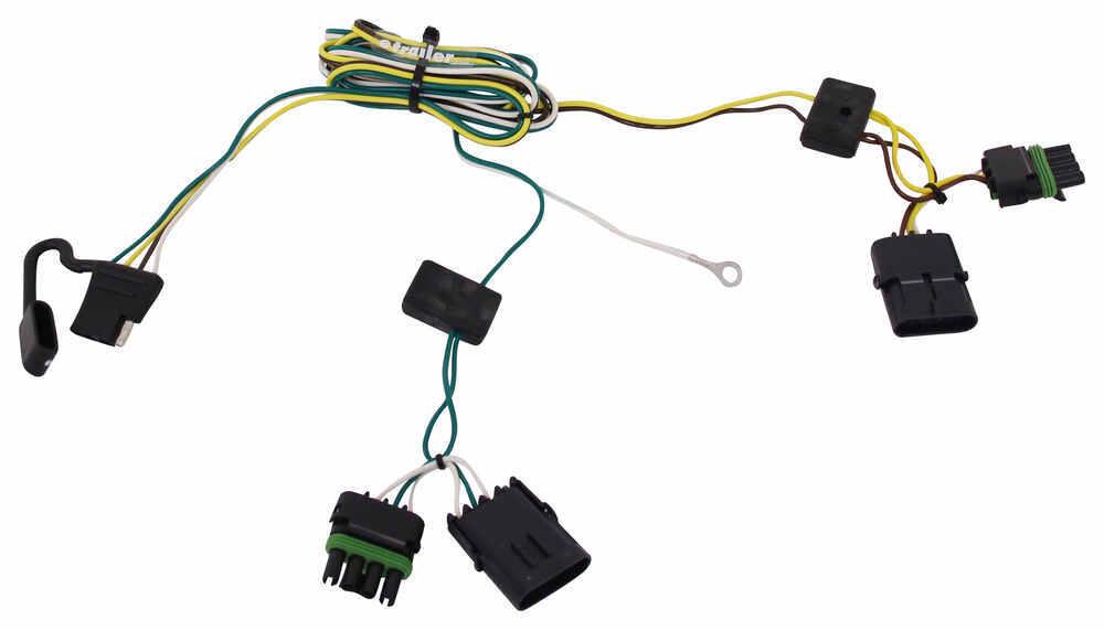 Custom Fit Vehicle Wiring 118356 - 4 Flat - Tekonsha