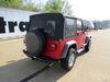 118356 - No Converter Tekonsha Custom Fit Vehicle Wiring on 1997 Jeep Wrangler