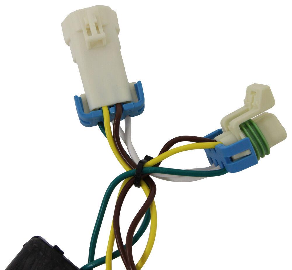 Compare T One Vehicle Wiring Vs Adapter 4 Pole Tekonsha Harness Flat Custom Fit 118359