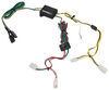 T-One Vehicle Wiring Harness with 4-Pole Flat Trailer Connector Custom Fit 118361