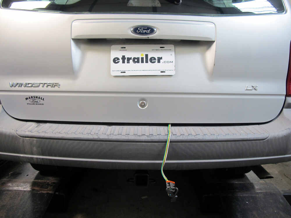 Trailer Wiring Harness For Ford Windstar : Ford windstar t one vehicle wiring harness with
