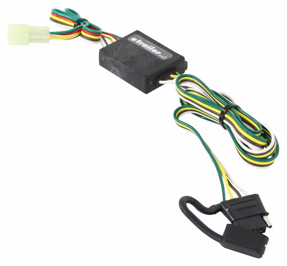 Suzuki Grand Vitara T One Vehicle Wiring Harness With 4 Pole Flat Way End Trailer Connector Diagram Etrailercom