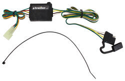 location of trailer wiring harness connector on 1996 geo tracker t one vehicle wiring harness 4 pole flat trailer connector
