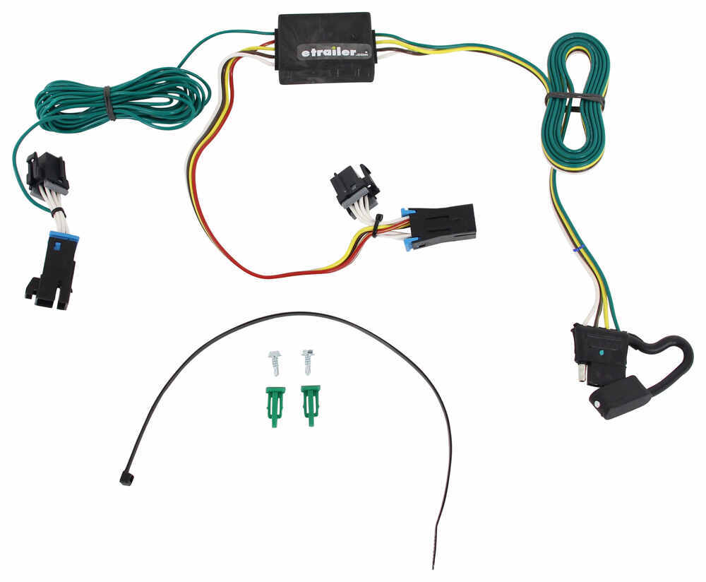 Gmc Savana Van T One Vehicle Wiring Harness With 4 Pole Flat Trailer 2015 Diagram Connector
