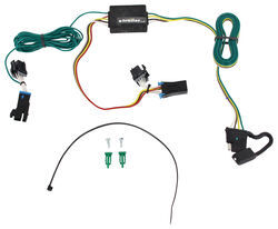 trailer wiring harness installation 2002 chevrolet express van rh etrailer com 2002 Chevrolet 1500 Express Engine Chevrolet Express 1500 Cargo 2002