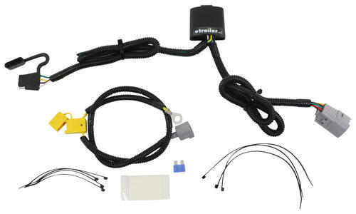 compare t one vehicle wiring vs universal installation etrailer com  at 2004 Ranger Plastic Retainer For Firewall Rubber Wire Harness Boot
