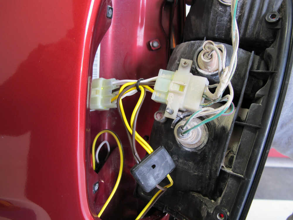 Trailer Wiring Harness For 2004 Toyota Tacoma : Toyota tacoma custom fit vehicle wiring tekonsha