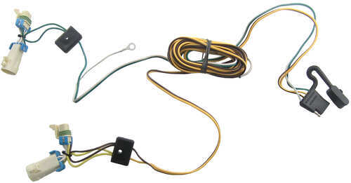 2003 Buick Rendezvous Tone Vehicle Wiring Harness With 4pole Flat