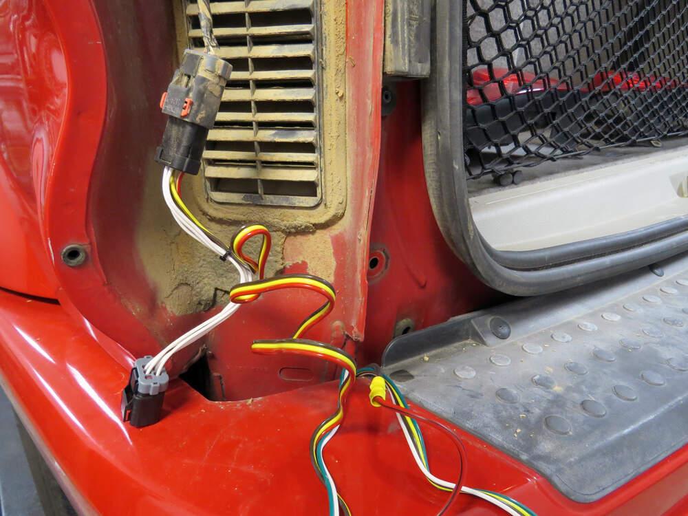 2004 Dodge Durango Custom Fit Vehicle Wiring - Tekonsha