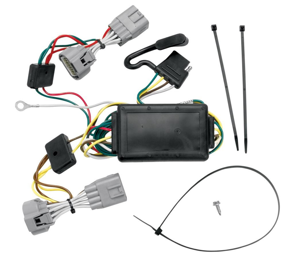 Trailer Wiring Harness For 2005 Jeep Grand Cherokee : Jeep grand cherokee custom fit vehicle wiring tekonsha