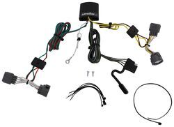 T-One Vehicle Wiring Harness with 4-Pole Flat Trailer Connector on